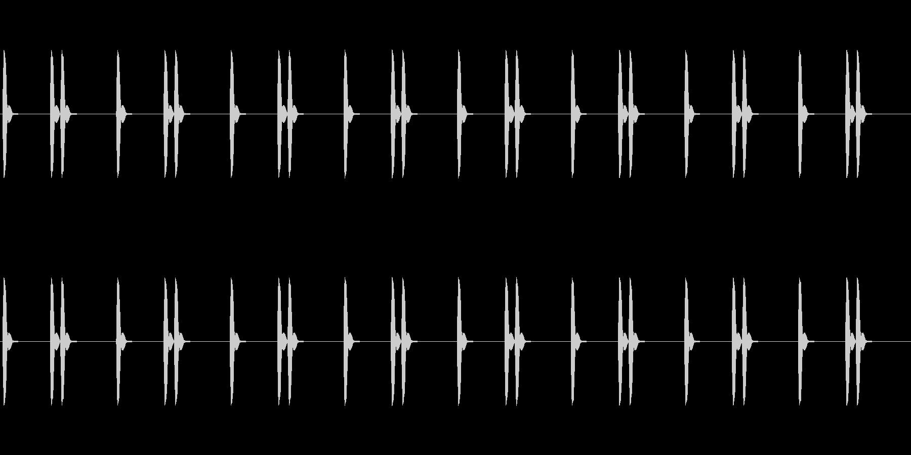 【効果音】信号機_ひよこ(ピヨピヨ)の未再生の波形