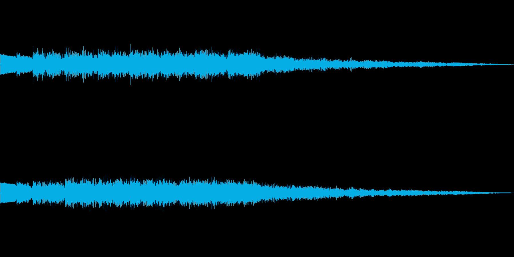 不思議系上昇音 魔法呪文回復混乱 02の再生済みの波形