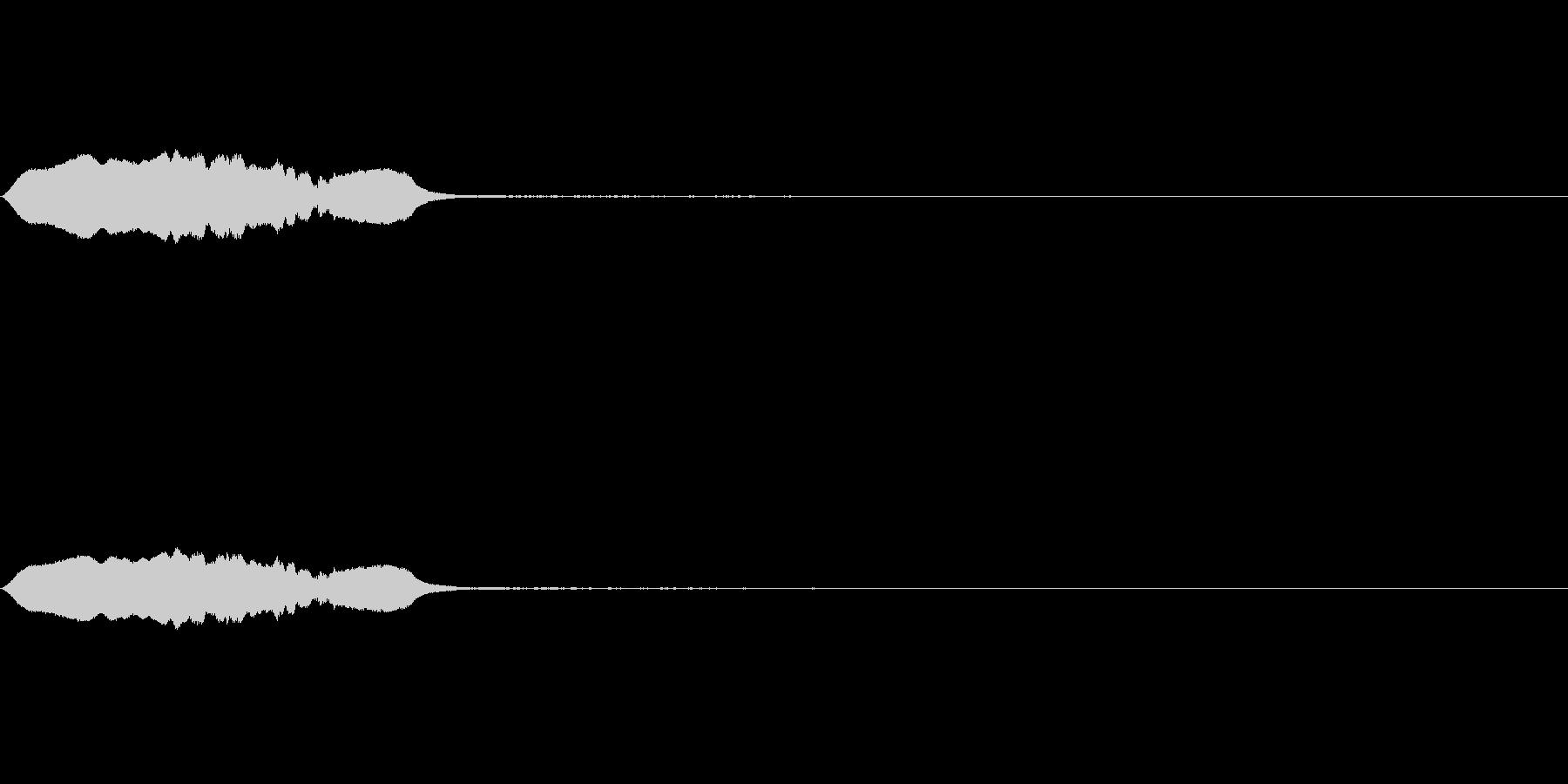 スライドホイッスル-3の未再生の波形