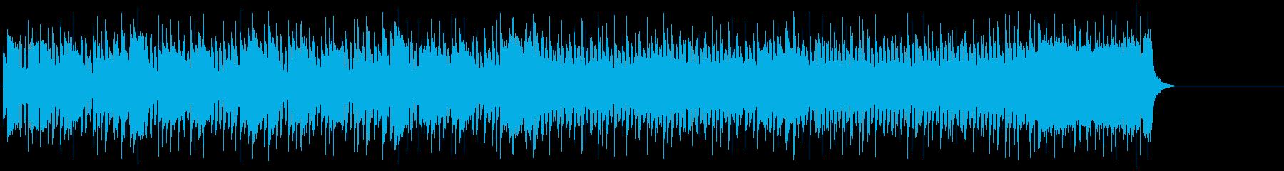 爽快に疾走するポップ(イントロ~Aメロ)の再生済みの波形