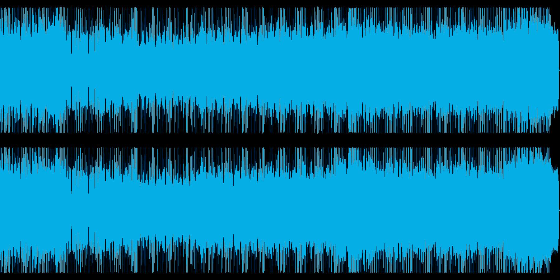 爽快でファンタジックなメタルBGMの再生済みの波形