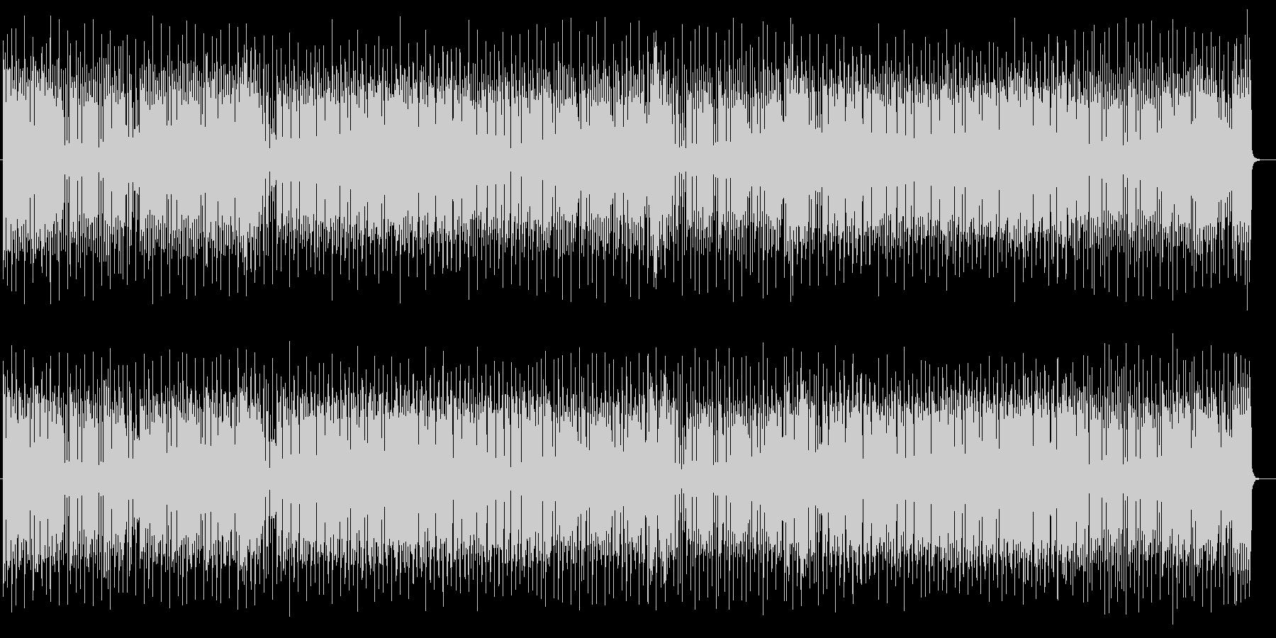 ミディアムテンポのレゲエポップスの未再生の波形