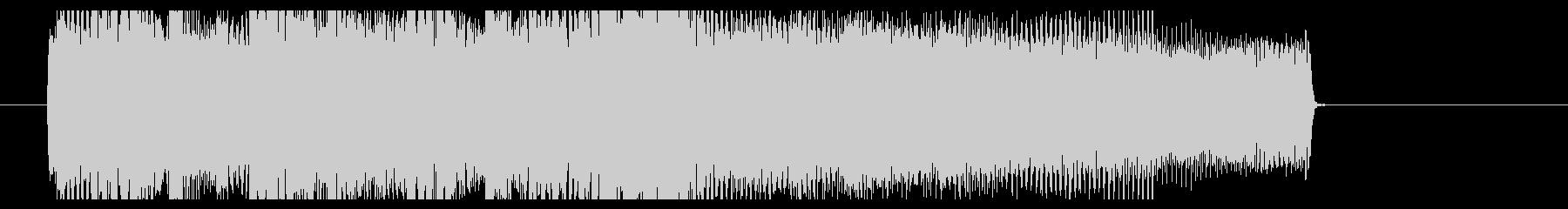 メタルコア(BPM240)リフジングルの未再生の波形