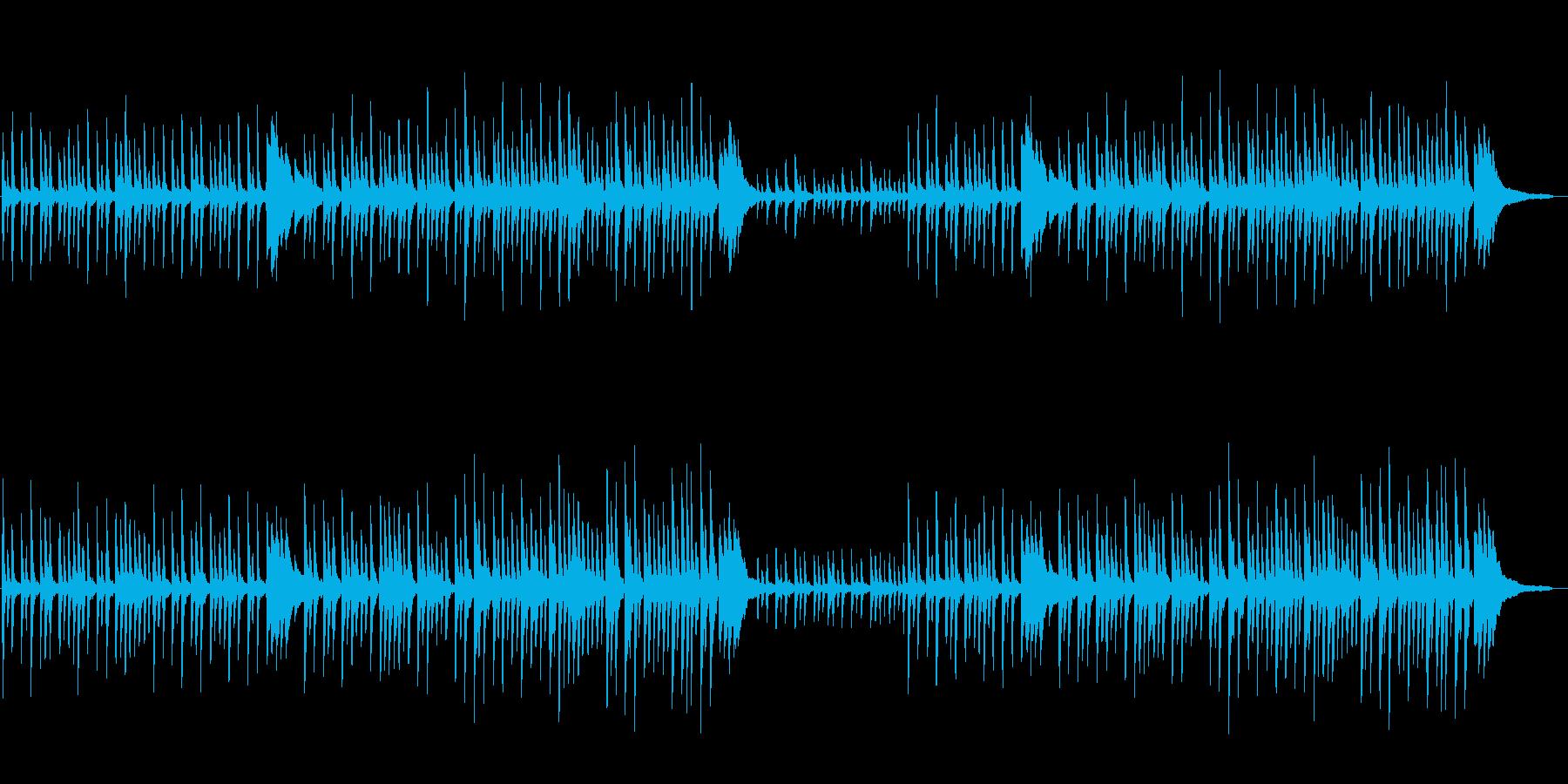 幻想的で不思議な切ないピアノソロの再生済みの波形