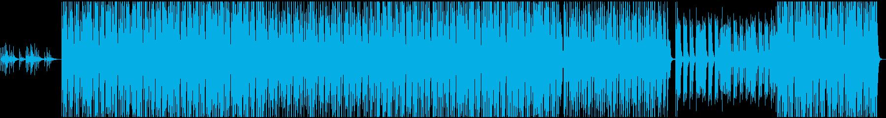 夏の海をイメージさせる明るいEDMの再生済みの波形