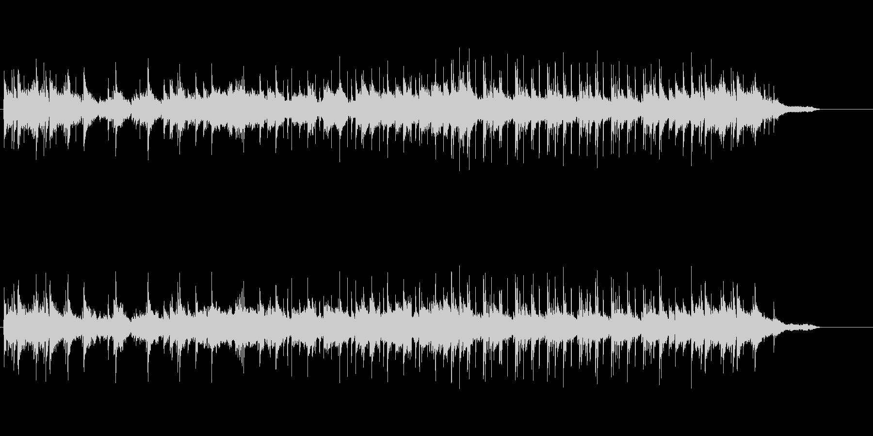 スタイリッシュなミディアム・バラードの未再生の波形