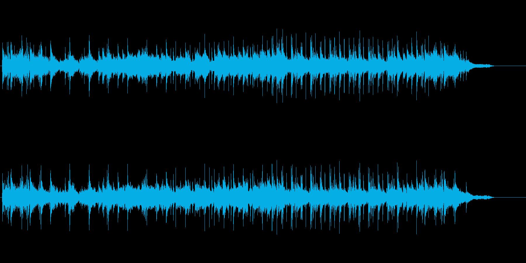 スタイリッシュなミディアム・バラードの再生済みの波形