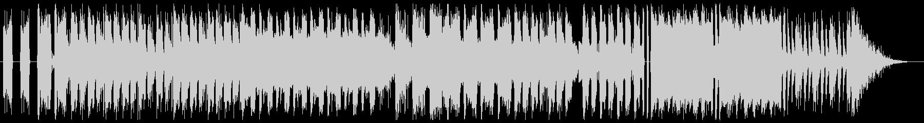 グランジ系ロックの未再生の波形