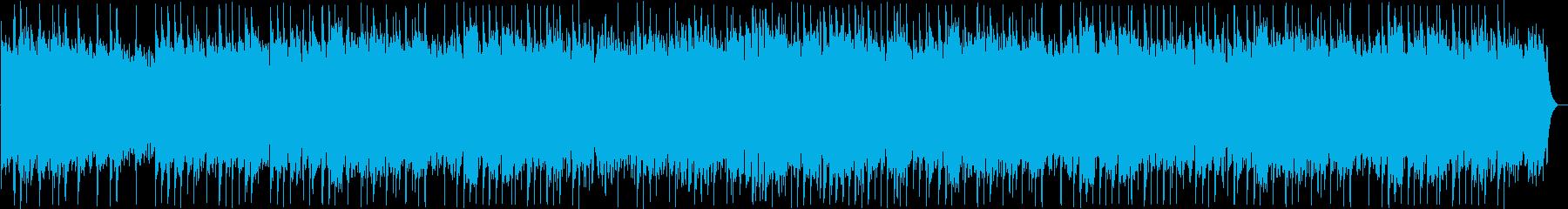 和風の弦楽器・シンセサイザーサウンドの再生済みの波形