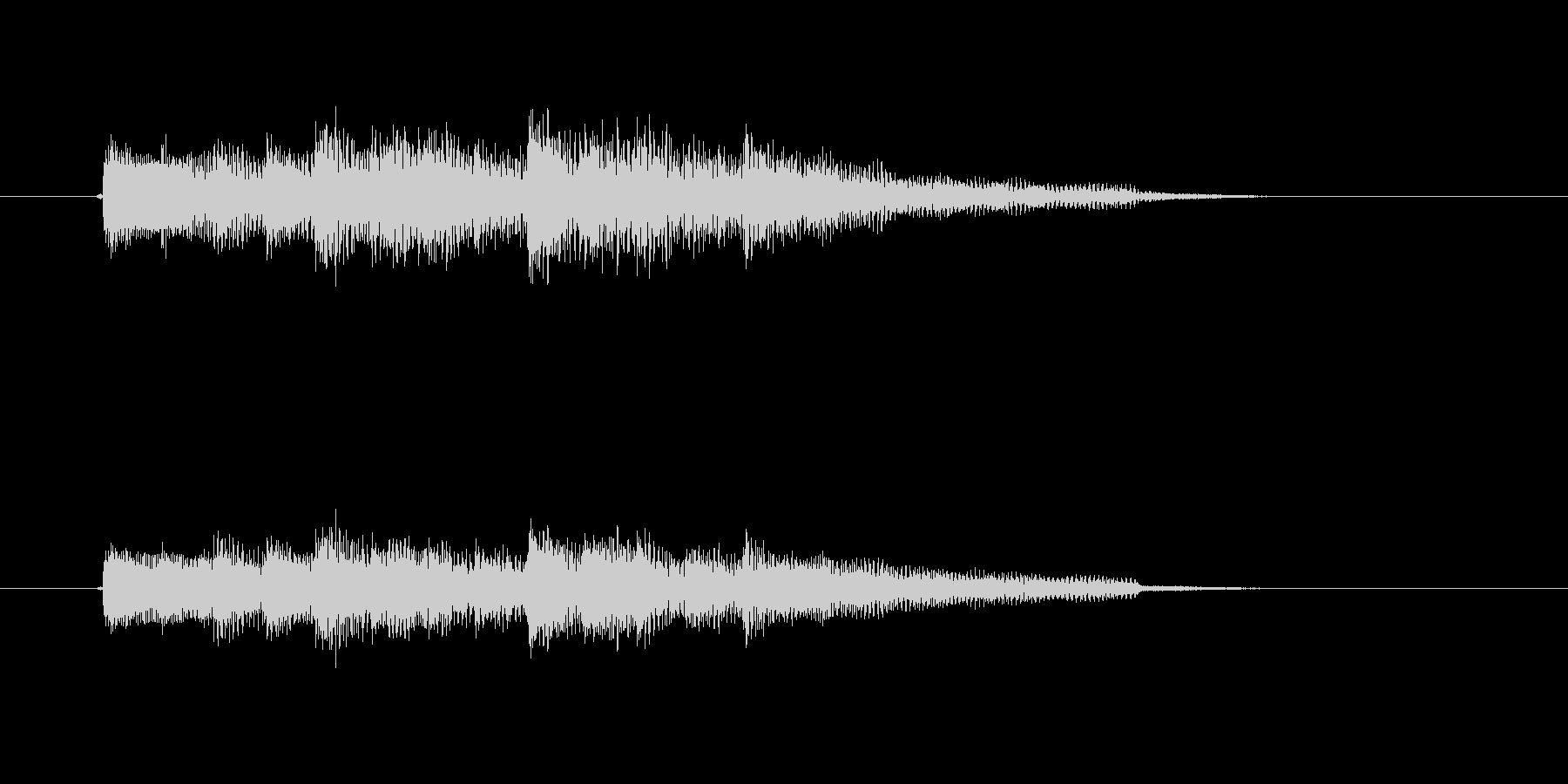 場面転換に最適なアコースティックギター曲の未再生の波形