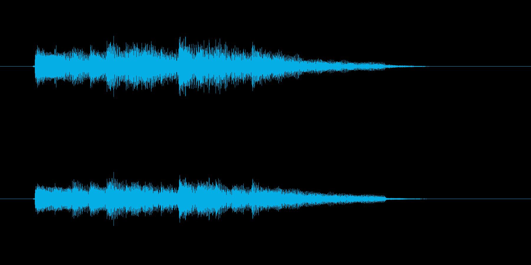 場面転換に最適なアコースティックギター曲の再生済みの波形