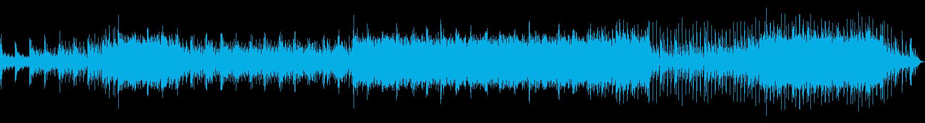 高音質♪電子系BGMサイズ音圧タイプありの再生済みの波形