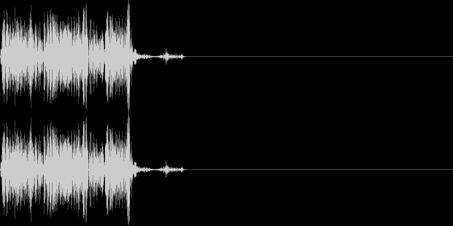 シュピッ(ダメージ_攻撃_逃げる_高音)の未再生の波形