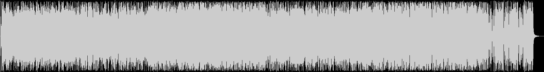 おしゃれなピアノシンセ打楽器サウンドの未再生の波形
