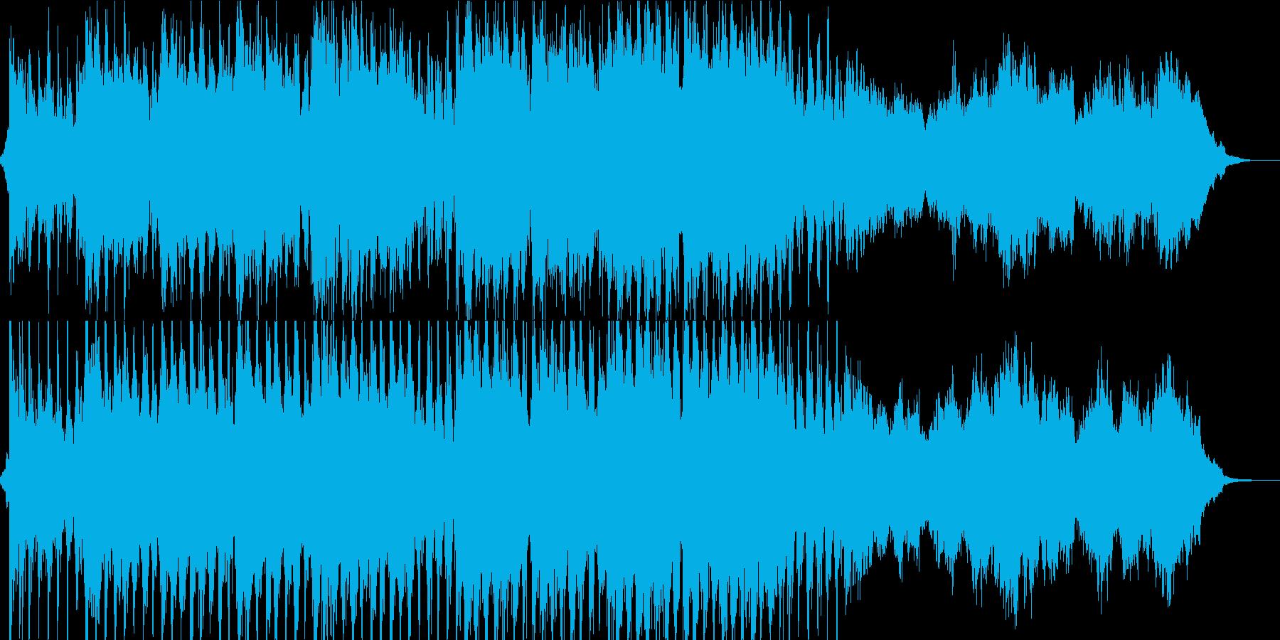 ヨーロッパ/ケルト風/壮大なオープニングの再生済みの波形
