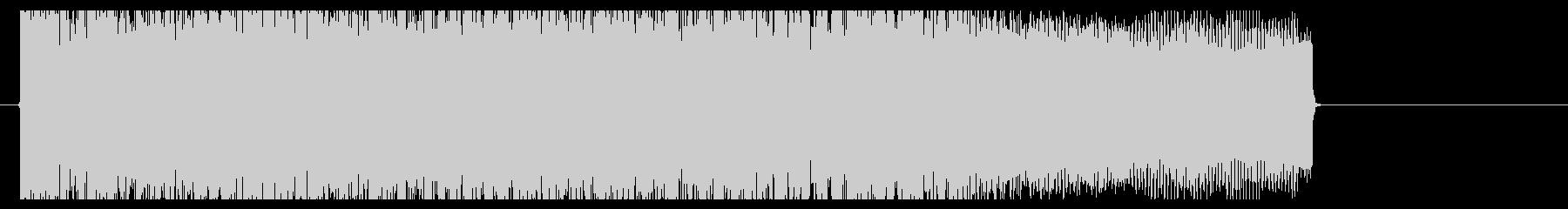 メタルコア(BPM220)リフジングルの未再生の波形