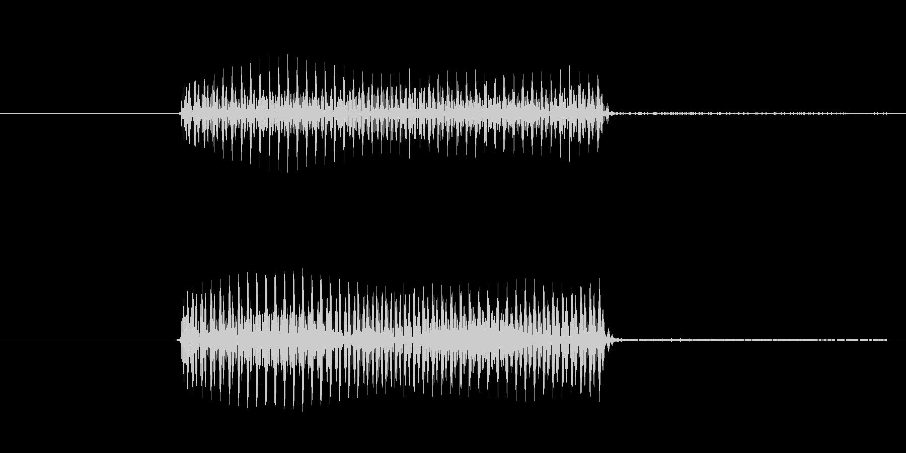 ゲーム、クイズ(ブー音)_011の未再生の波形