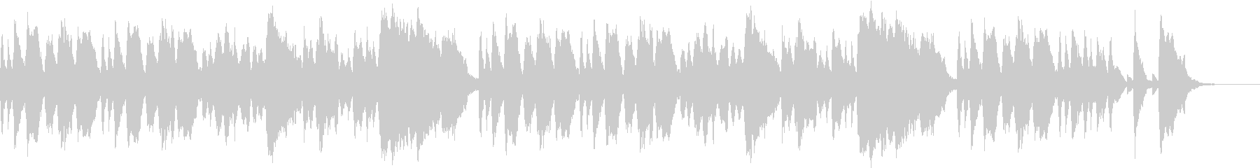ほのぼのとした雰囲気のオーケストラ曲の未再生の波形