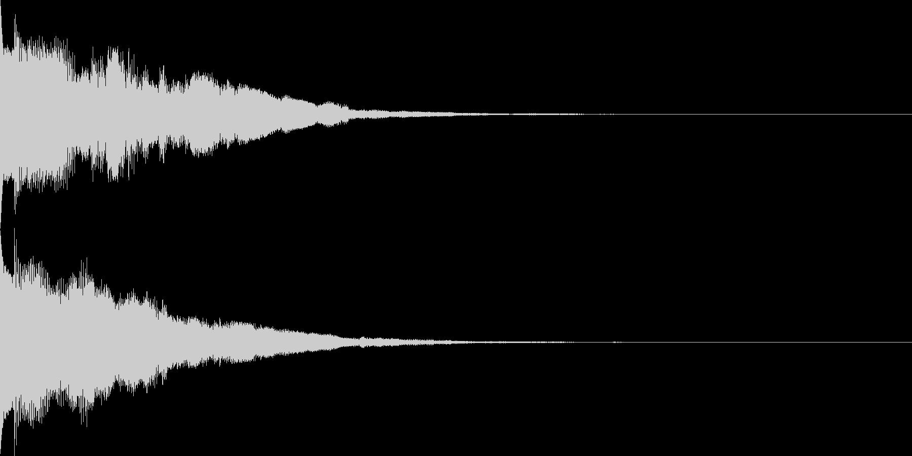システム音39の未再生の波形