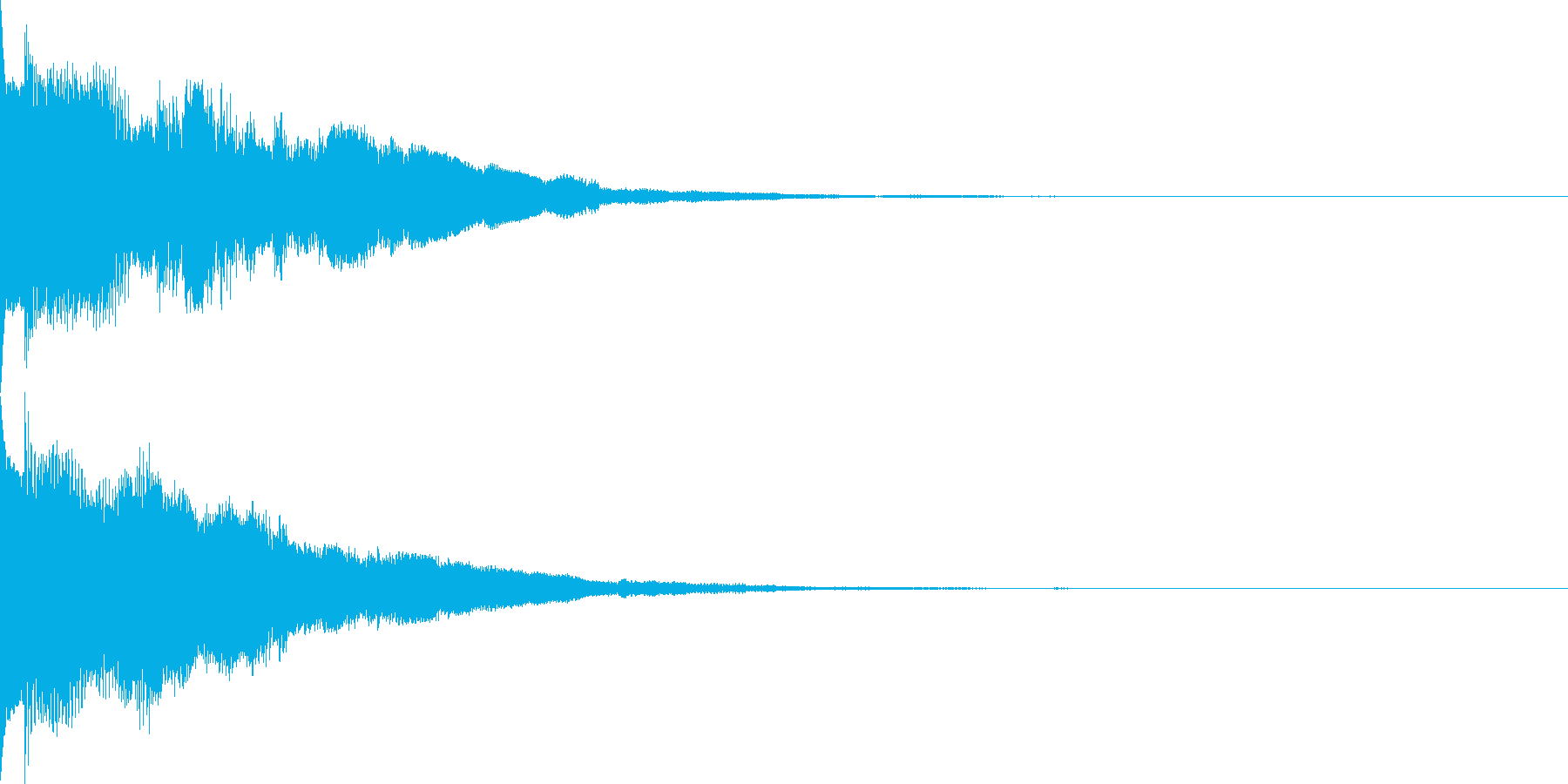 システム音39の再生済みの波形