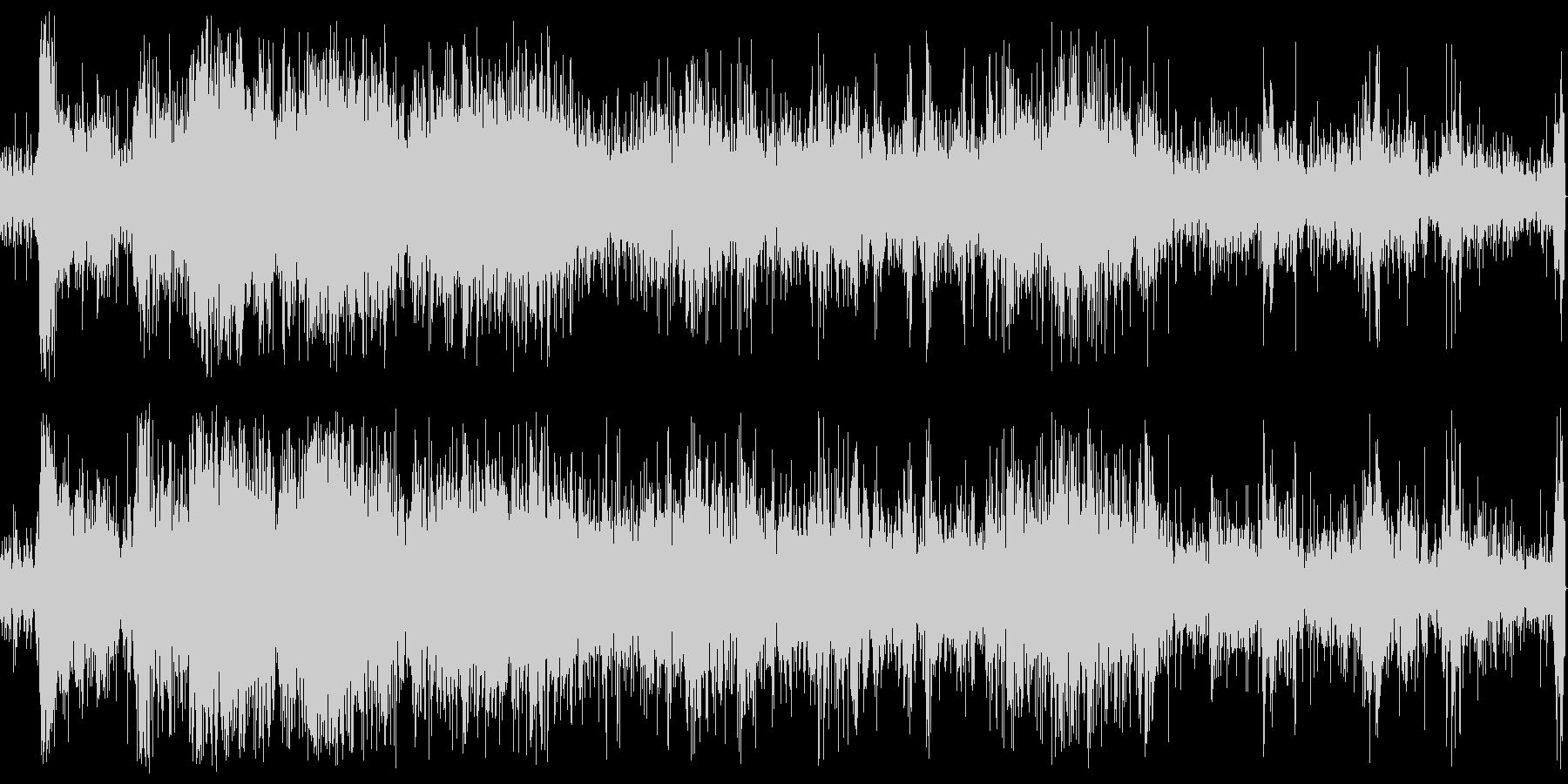パチパチ(天ぷら、揚げ物)の未再生の波形