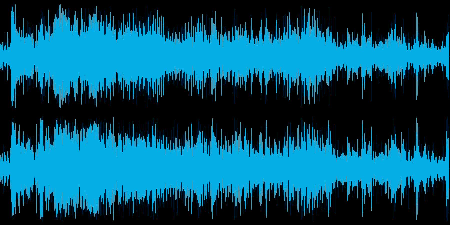 パチパチ(天ぷら、揚げ物)の再生済みの波形