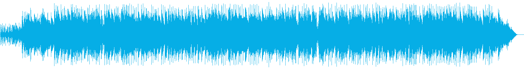 ゆっくりしたカントリー調のギターの曲の再生済みの波形