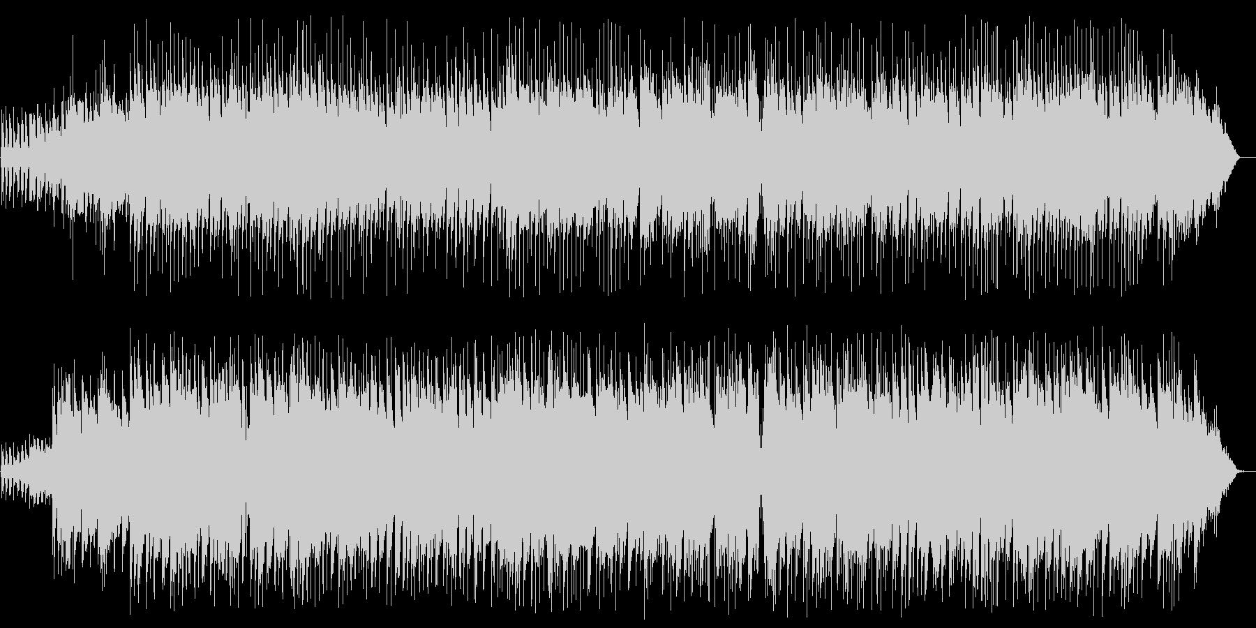 ゆっくりしたカントリー調のギターの曲の未再生の波形