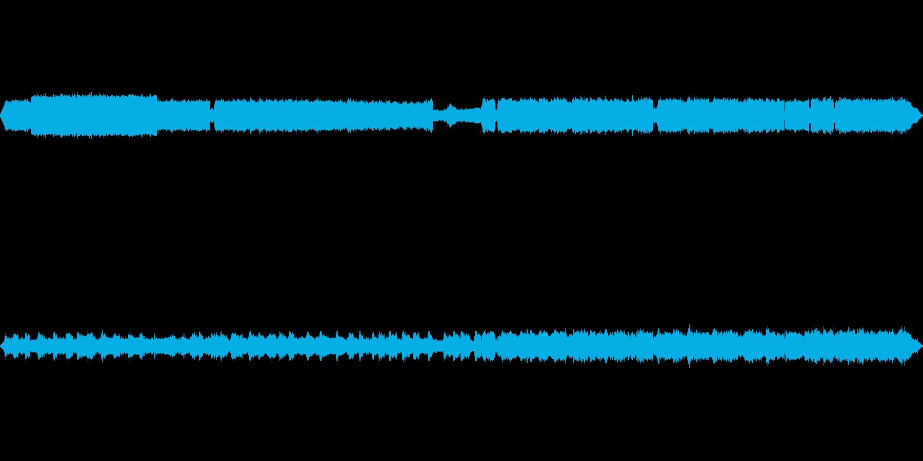 【自然音】秋の虫の鳴き声02の再生済みの波形