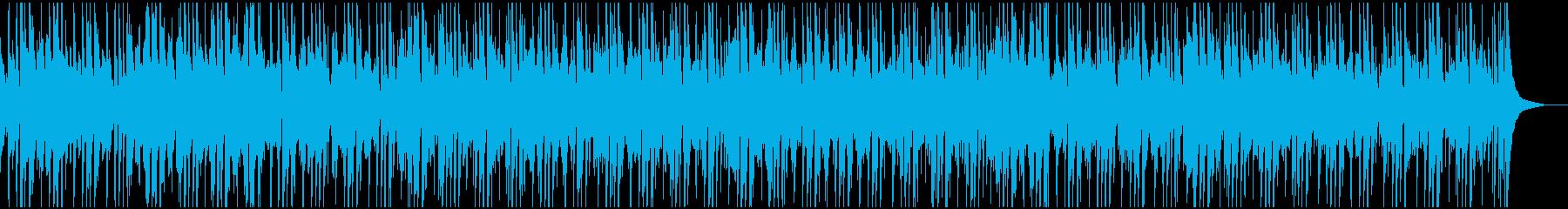 爽やかでポップなフュージョンの再生済みの波形
