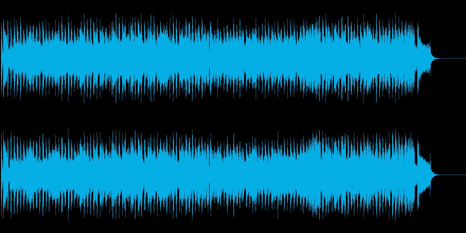 ゆったり陽気なデキシーランド・ジャズ風の再生済みの波形