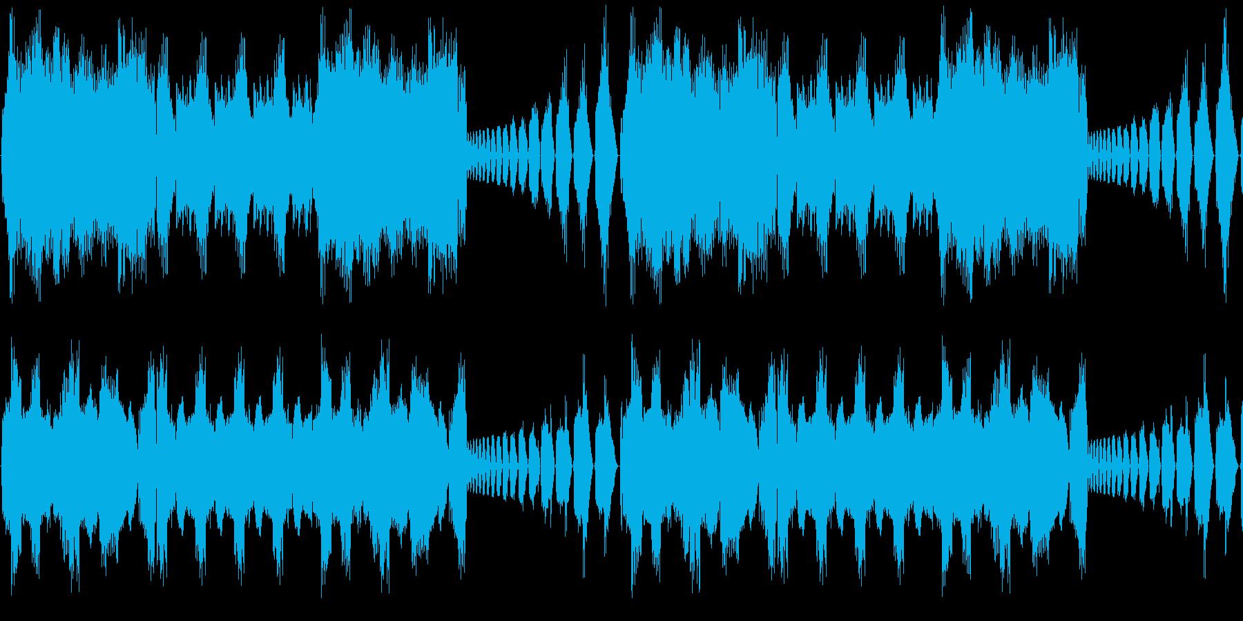 【明るいシンセポップ】の再生済みの波形