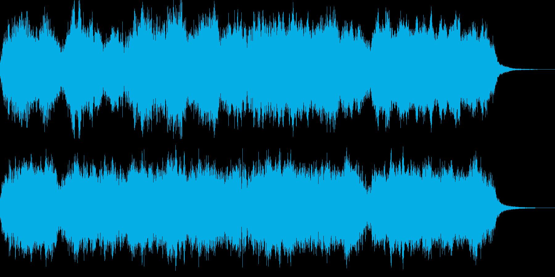 何かの始まりにピッタリの壮大オーケストラの再生済みの波形