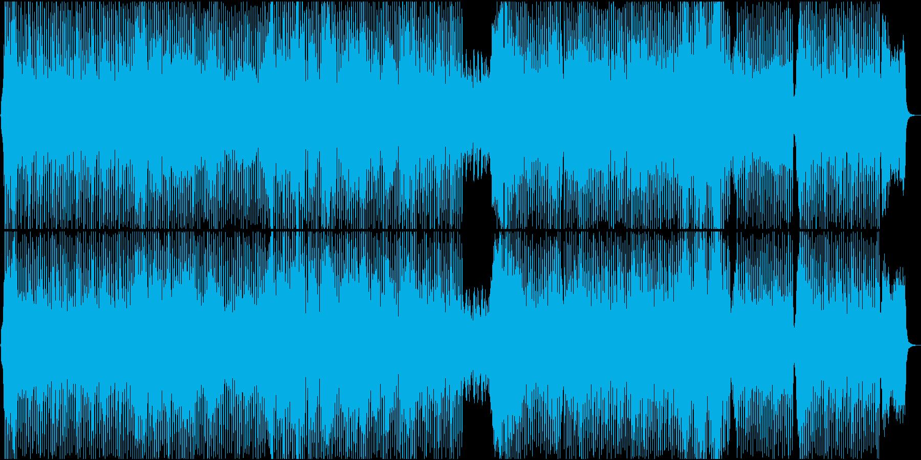 和風忍者対決_箏の再生済みの波形
