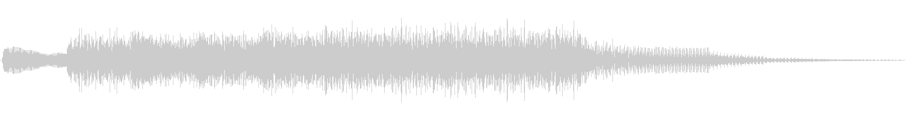 ジングル101gの未再生の波形