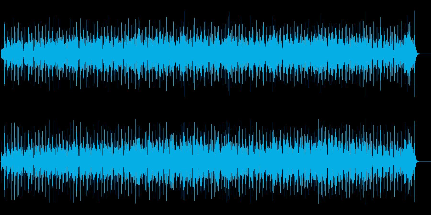 避暑地感覚のトロピカルなレゲエ風ポップスの再生済みの波形