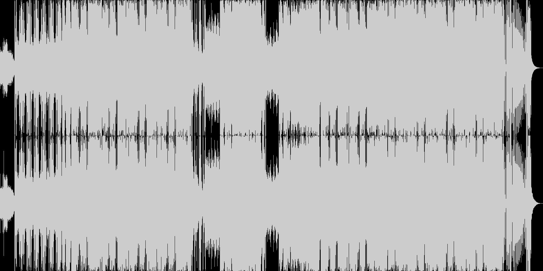 カッコいいサウス系HipHopの未再生の波形