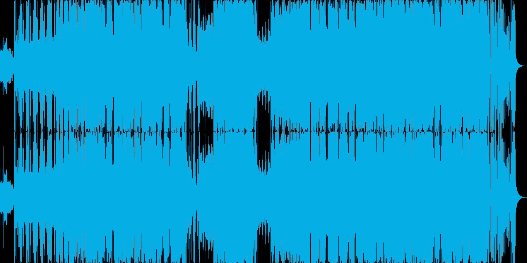 カッコいいサウス系HipHopの再生済みの波形