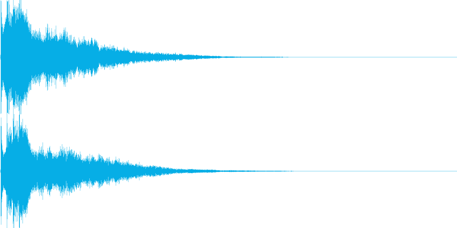 キラーン(決定音、起動音、ゲームアプリ)の再生済みの波形