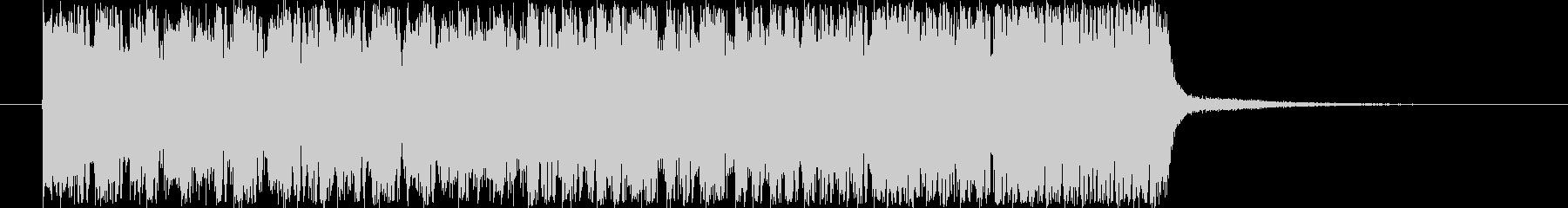 シンセサイザーのジングルです。の未再生の波形