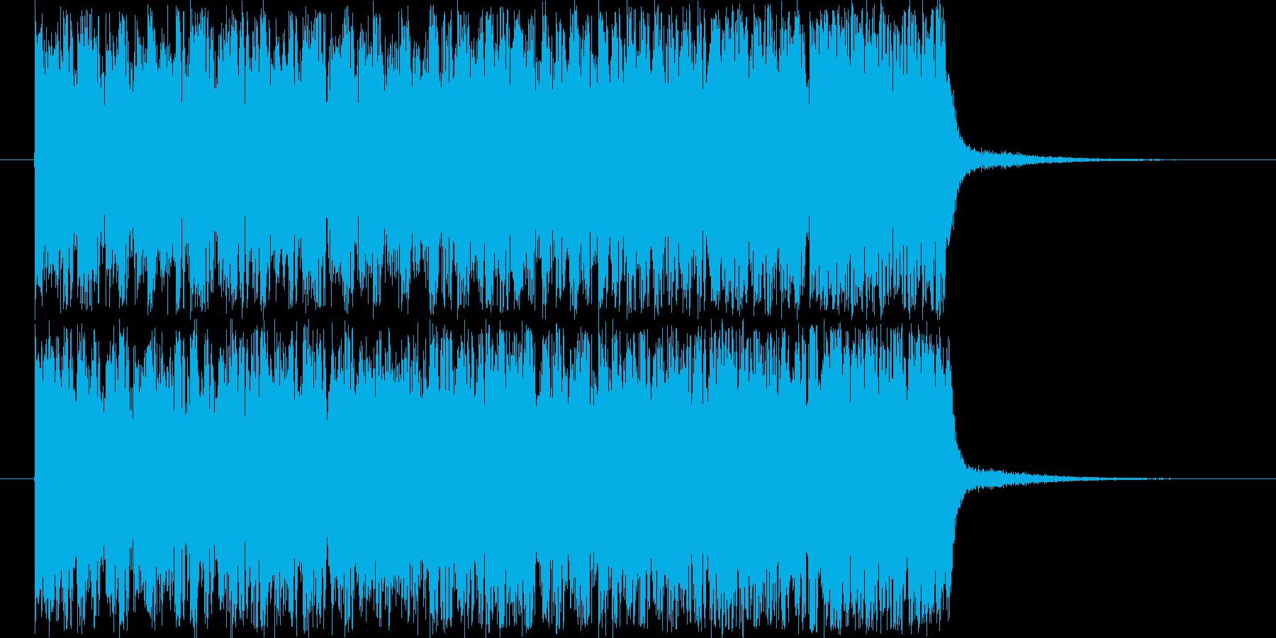 シンセサイザーのジングルです。の再生済みの波形