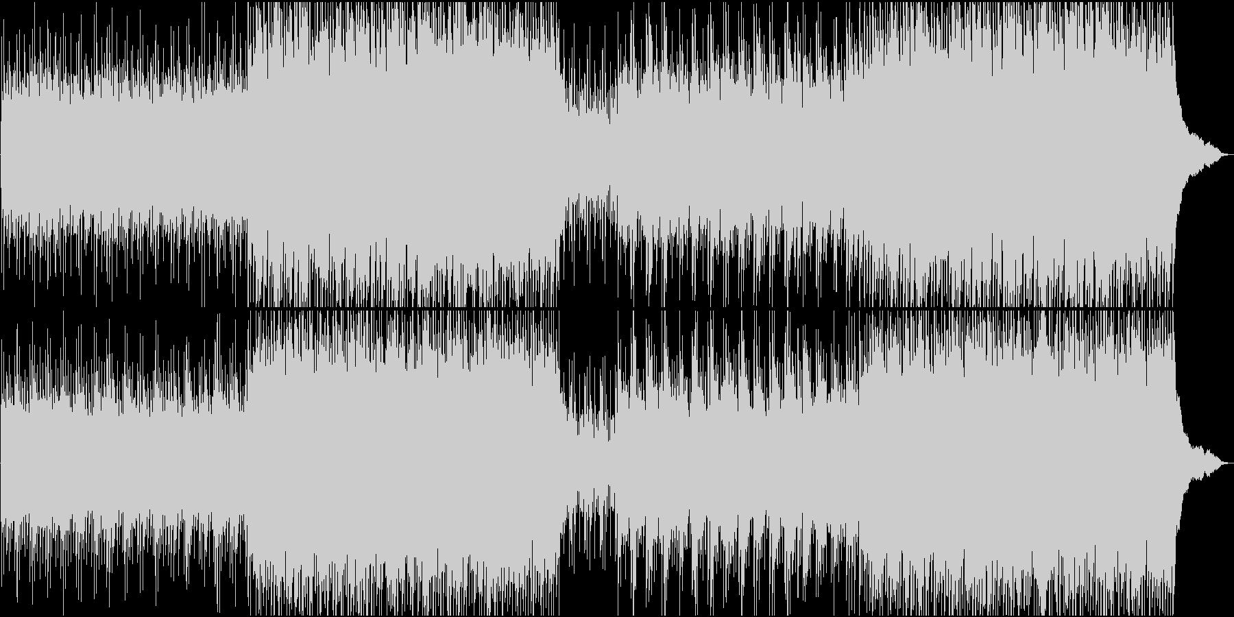 シェイクスピアの時代の映像のBGM風の未再生の波形