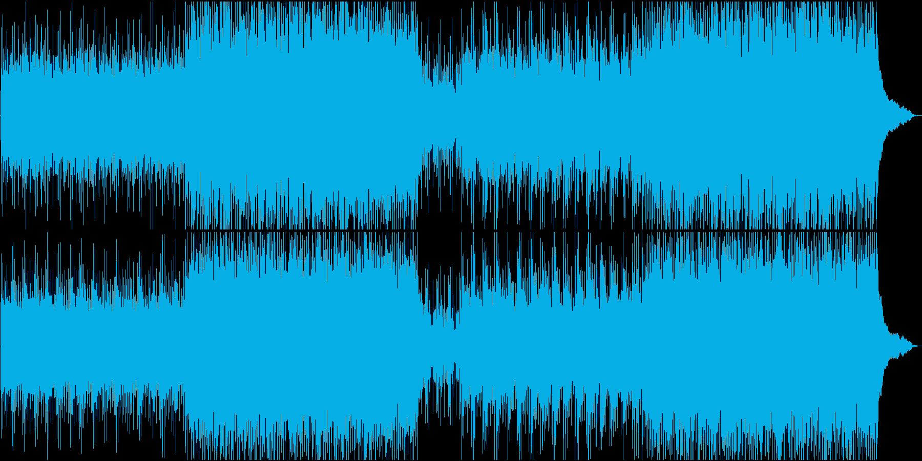 シェイクスピアの時代の映像のBGM風の再生済みの波形