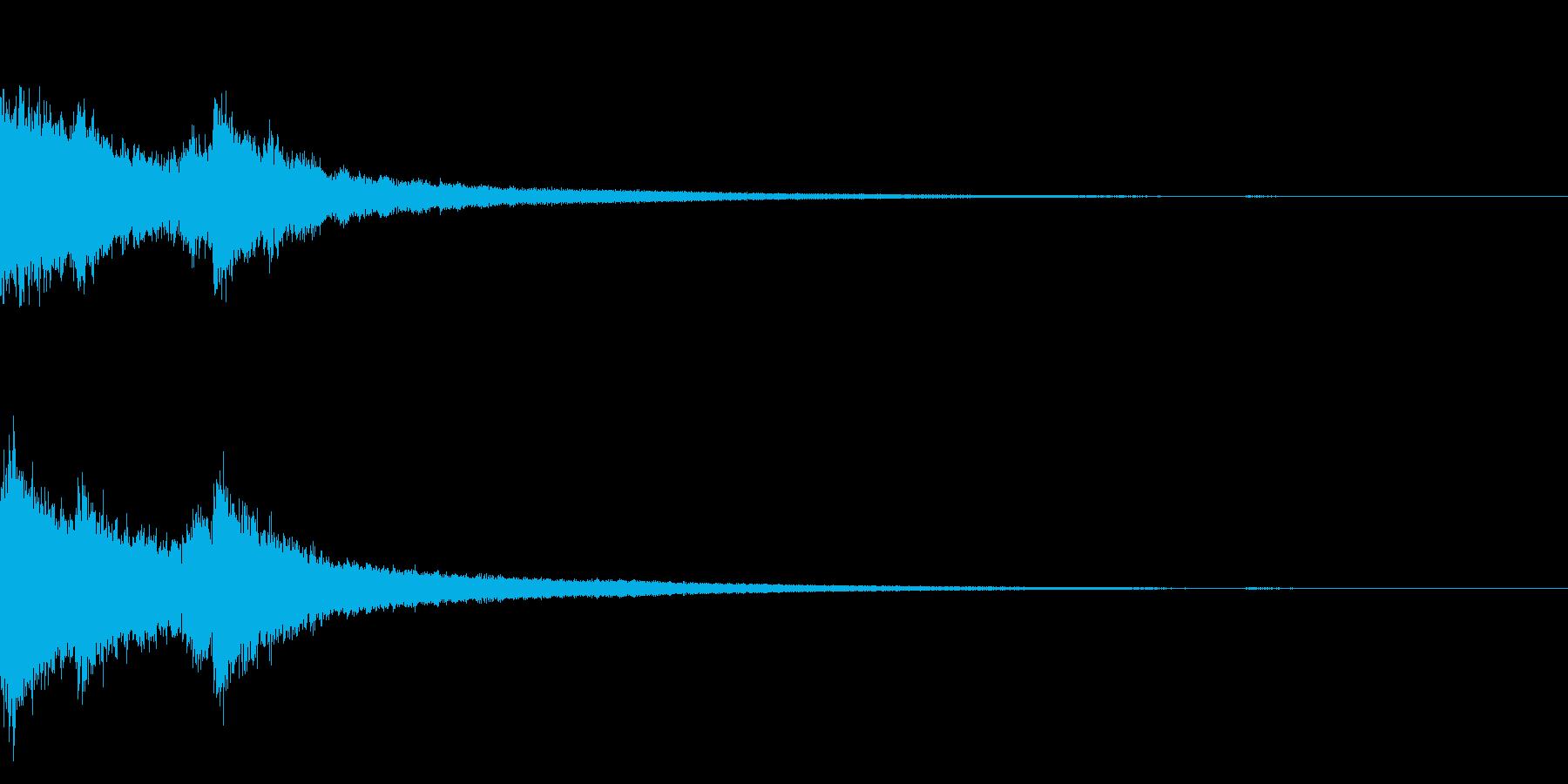 チャイナ 中国 インパクト ジングル14の再生済みの波形