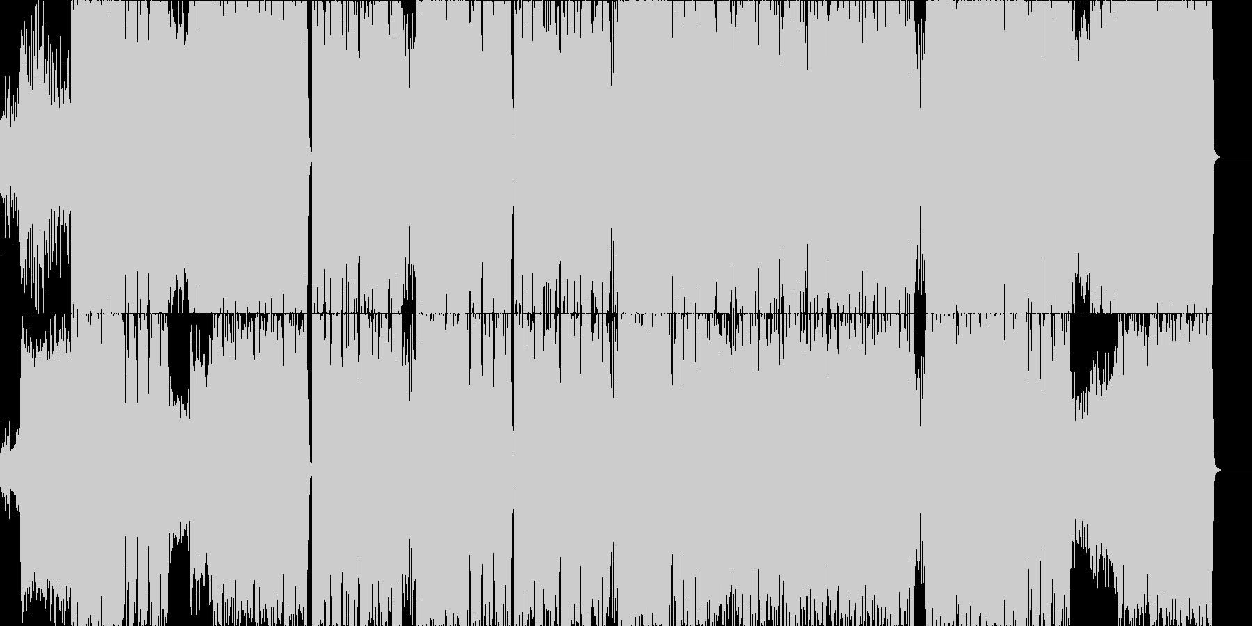 聴いたコトの無い現実の未再生の波形