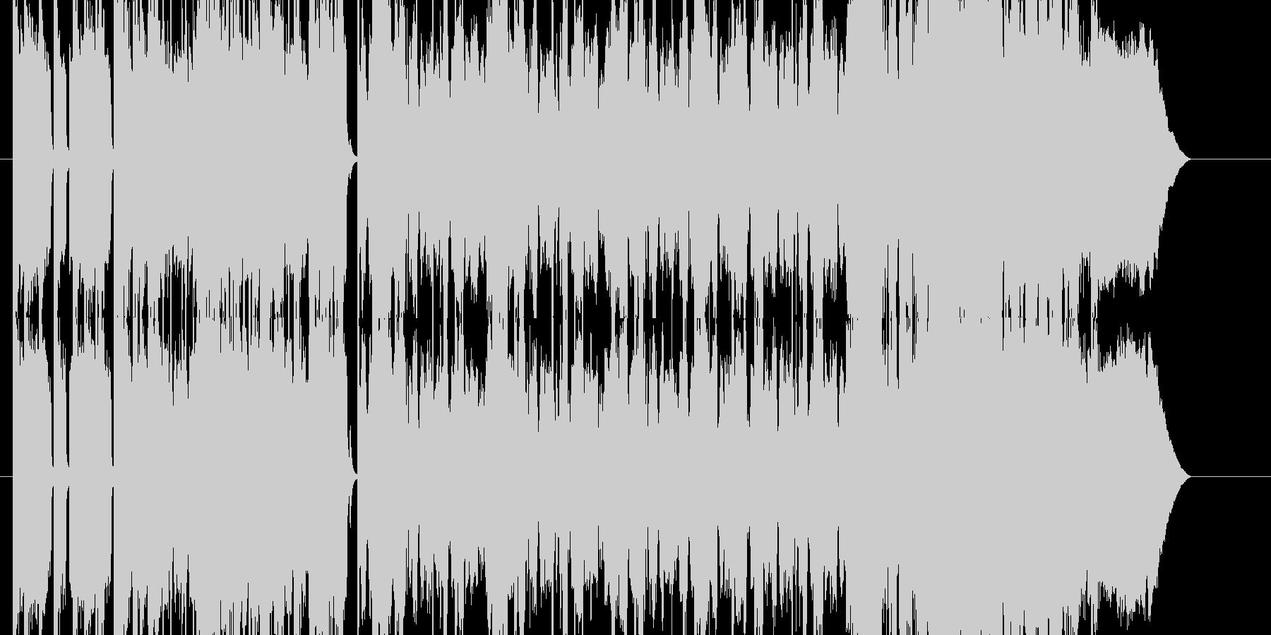 1からダブステップ調に拘り制作した楽曲…の未再生の波形
