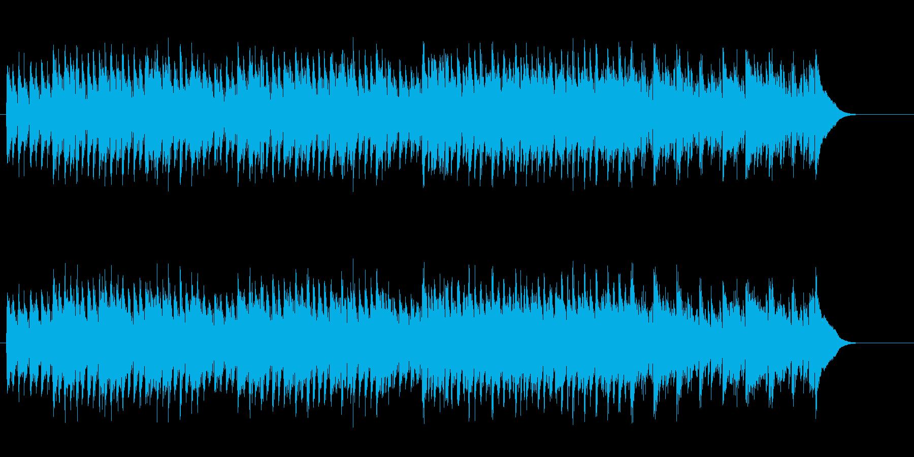 奇妙な西部劇風フラメンコ調ジプシー風の再生済みの波形