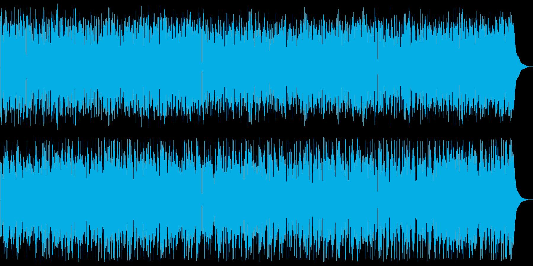 グリーンスリーブス ボサノバアレンジの再生済みの波形