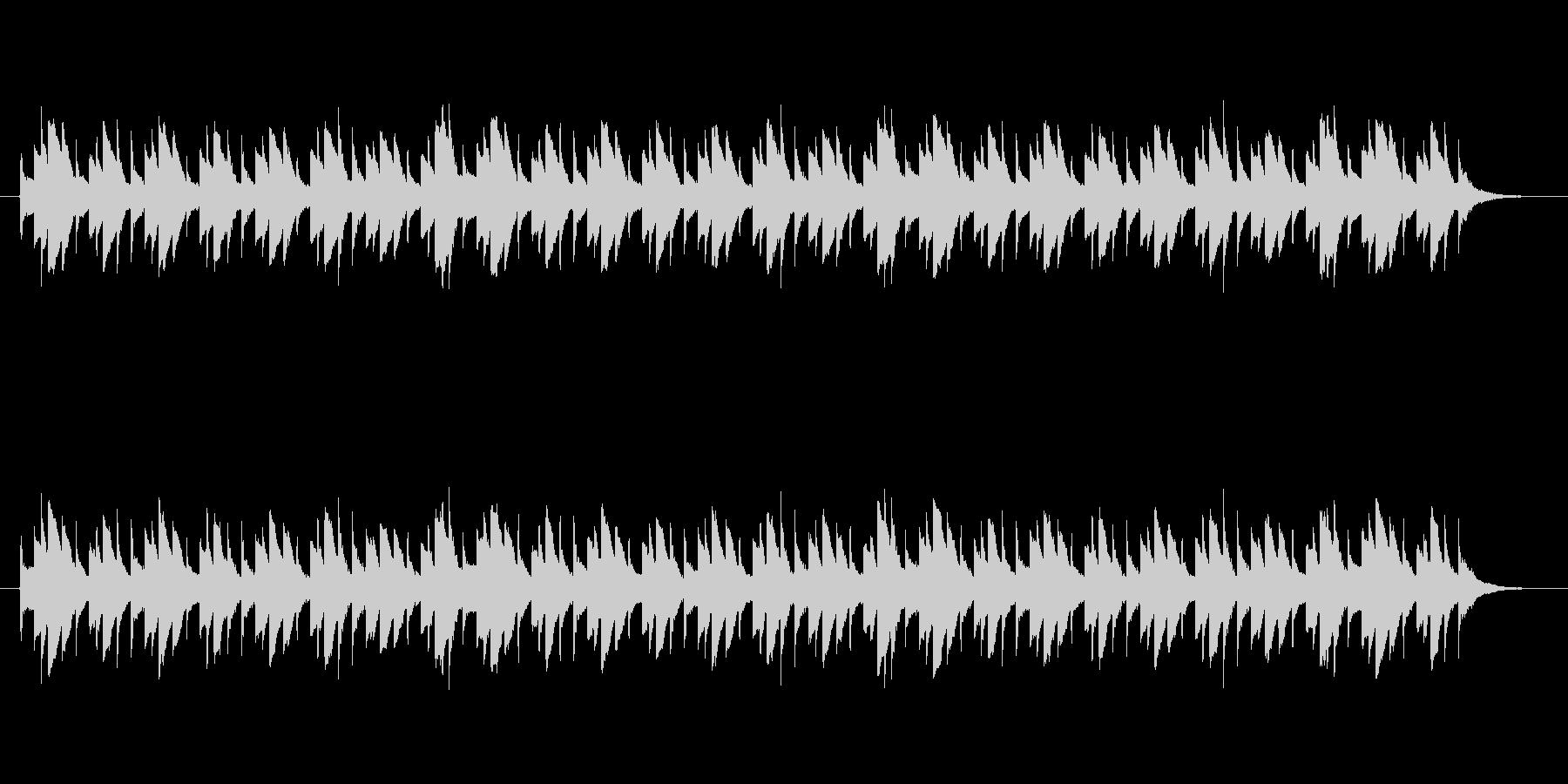 金属系楽器の民族音楽調アルペジオの未再生の波形