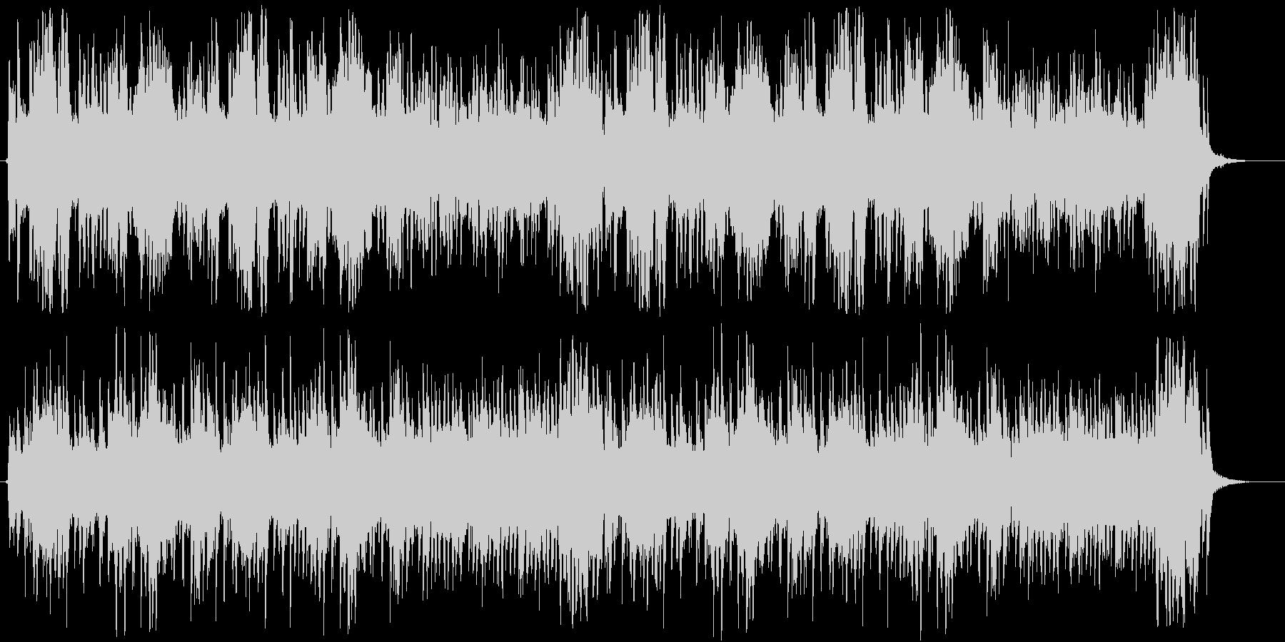 優しいクラリネットのハーモニーの未再生の波形